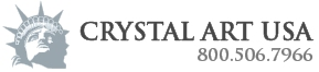 crystal art usa logo and phone