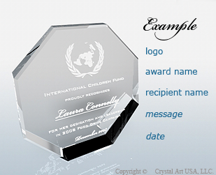 Personalization Advise For Crystal Awards Crystal
