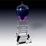 grand crystal apple award