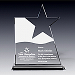 crystal patriotic star award