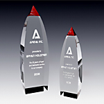 red vertex crystal award