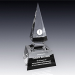 crystal spear obelisk award