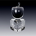 crystal apple award