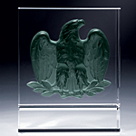 white eagle crystal award